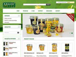 Mazurskie Miody e-sklep