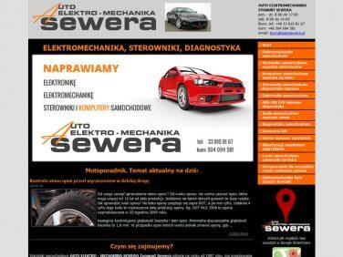 autoserwera - elektromechanika samochodowa