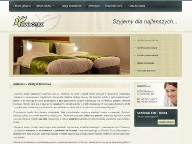 Mabotex- tekstylia hotelowe